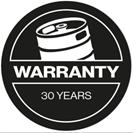 30-Jahre-Garantie